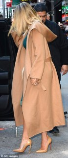 Khloe Kardashian's Nipple Brace The Weather In New York City