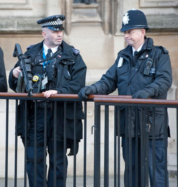 There are already 2,200 armed police in the capital. Sir Bernard Hogan Howe's announcement today will add 600 to this number