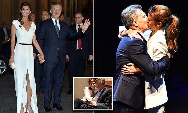 Mauricio Macri Admits Wife Juliana Awada Shes Insatiable