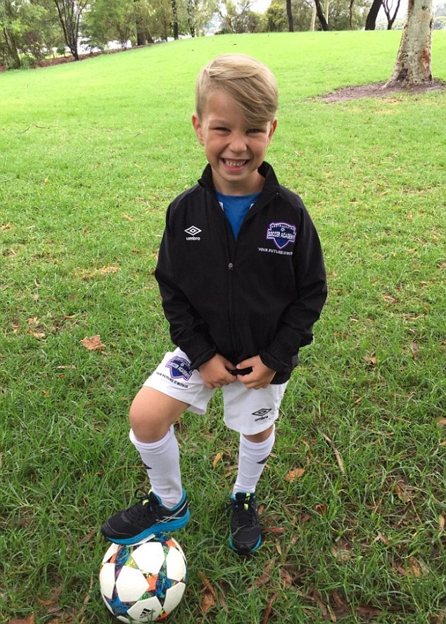 Ari Kum, 6, has been granted a trial with English Premier League powerhouse Manchester City