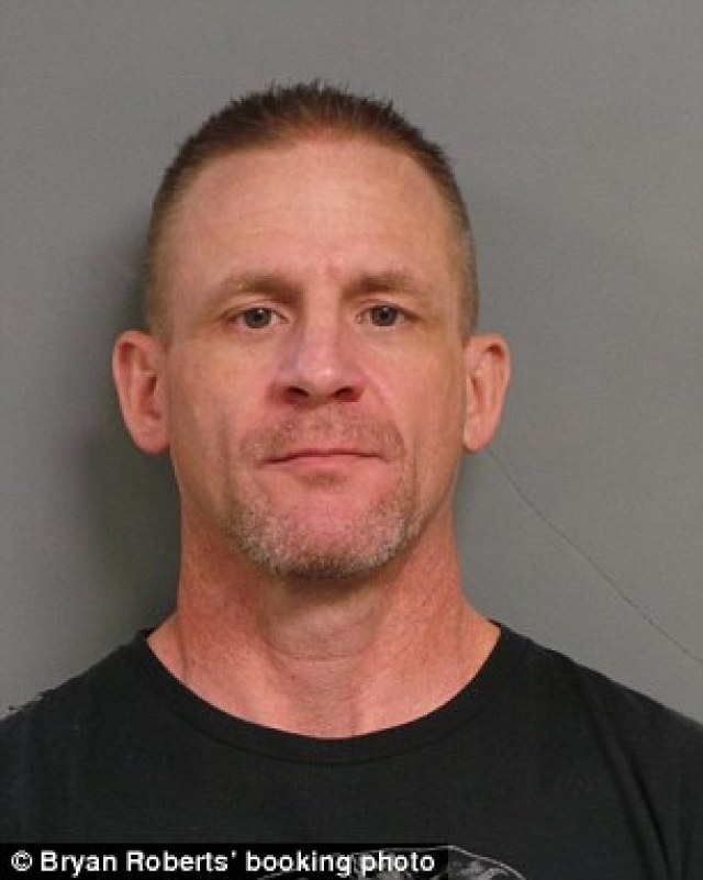 Bryan Roberts, 47, of Troy, MO faces charges of secretly recording over 20 women while they were changing