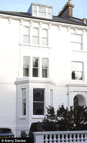 Mr Matthewshas submitted plans for a first-floor extension to the five-storey, stucco-fronted Chelsea property (pictured) which he bought in 2014