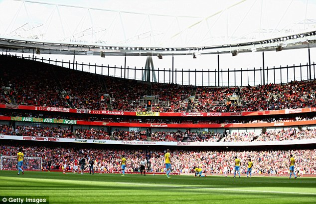 Theextra revenue brought in by their 61,000-seater Emirates Stadium has boosted the Gunners' revenue