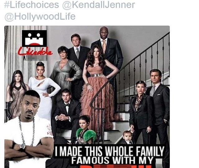 Lashing Out Farrah Responded To Kendalls Diss With A Reminder Of Older Sister Kim Kardashians