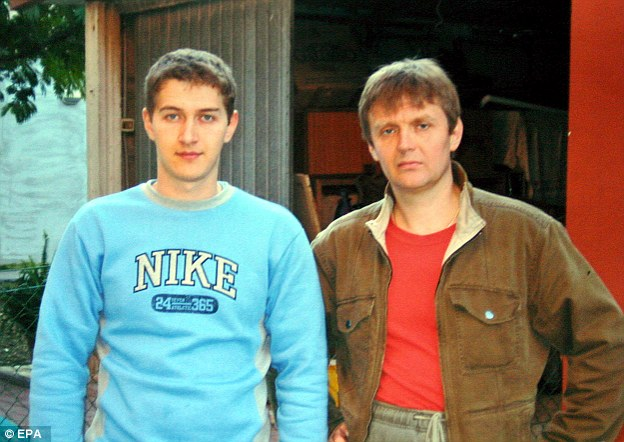 Maxim, left, and his brother Alexander (right) in November 2006. Maxim claims his brother, far from being an enemy of the state, had plans to soon return to Russia