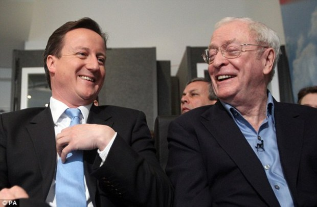 Warning: Sir Michael, pictured with David Cameron in 2010, says the Prime Minister needs to get 'extremely significant changes' or 'we should get out' of Europe