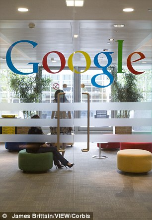 Google is set to pay three times more back tax to France than the UK, despite making three times as much money and employing four times more staff in its British outpost (pictured)