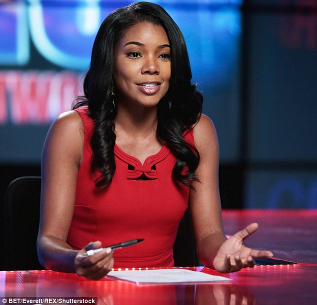 Face of the channel: Gabrielle is one of BET's star. Onerandomchick