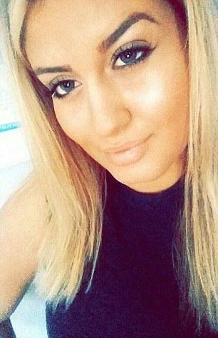 Alexandra Mezher, de 22 años, un trabajador social sueco que presuntamente fue asesinado a puñaladas por un solicitante de asilo de 15 años de edad, en un refugio para los niños refugiados