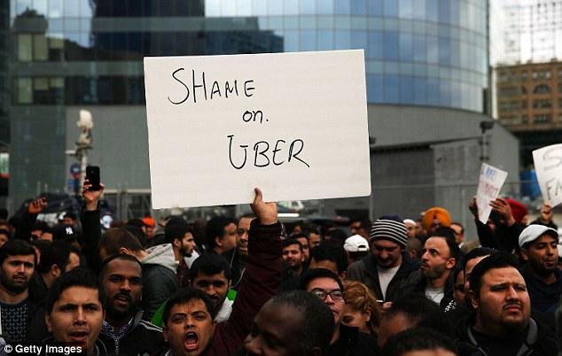 Image result for uber loves strikes