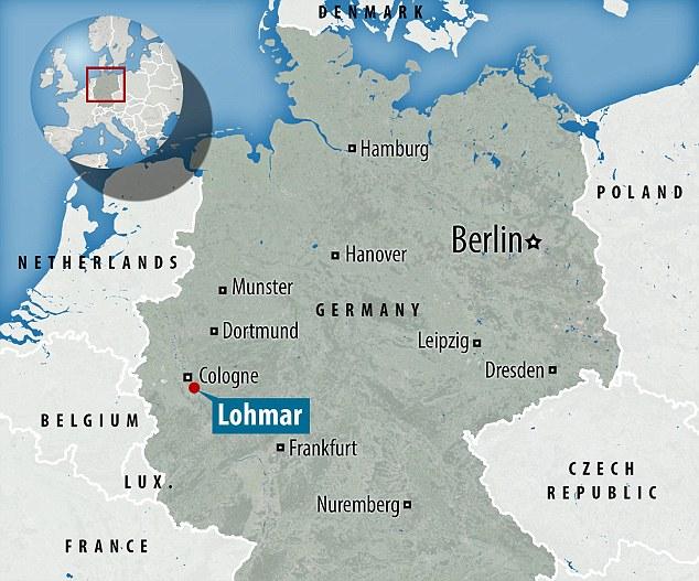 A polícia recebeu uma chamada de emergência em Lohmar, no oeste da Alemanha a partir de um homem que disse que viu as crianças caindo um por um a partir da janela do primeiro andar do centro de requerentes de asilo