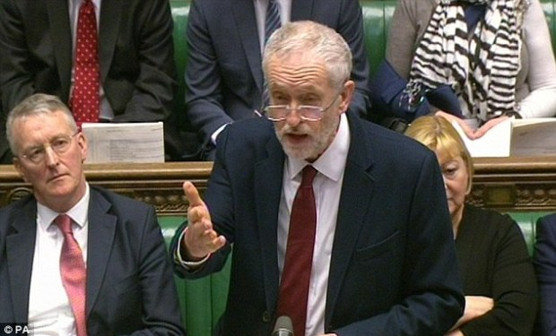 In the House of Commons, Labour leader Jeremy Corbyn demanded to know why Mr Cameron had not outlined his deal to MPs first