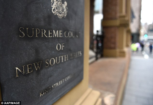 The hearing will continue at the NSW Supreme Court on King Street (pictured)