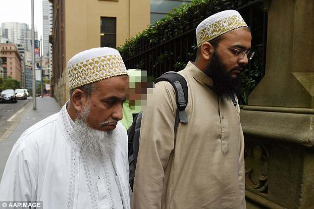 Shabbir Mohammedbhai Vaziri is an accessory after the fact (pictured left)