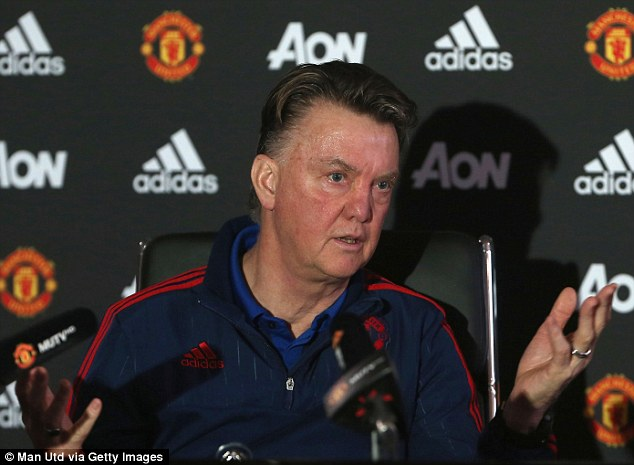 manchester united manager louis van gaal has come under increasing