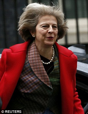 Home Secretary: Theresa May wanted to deport the woman, who was jailed atBlackfriars Crown Court