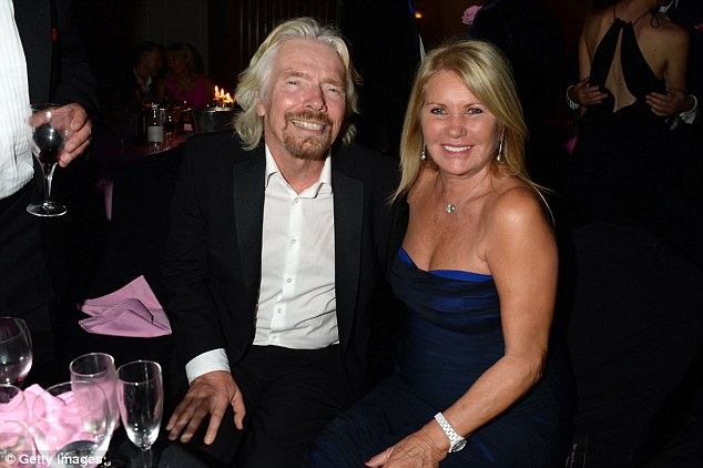 Image result for Richard and Joan Branson