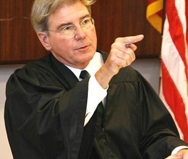 Judge Michael Overstreet A Widower Married Paul In In  He Is One