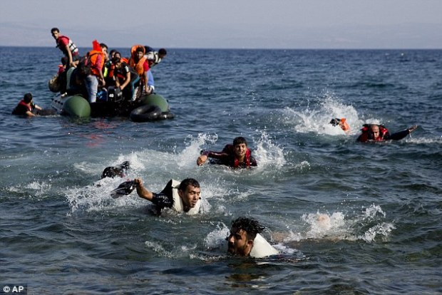 More than 850,000 crossed the sea to islands like Kos in 2015, and shows signs of being higher this year