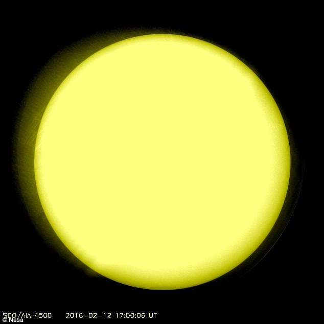 The sun is in the midst of its quietest period in more than a century. Several days ago, it was in 'cue ball' mode, with an incredible image from Nasa showing no large visible sunspots seen on its surface