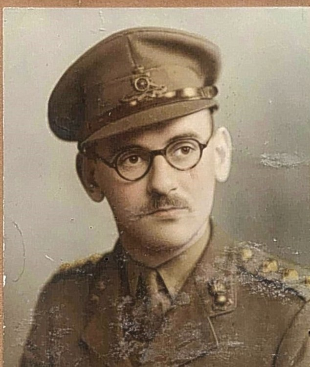 Bill Cash's father Paul, who died in Normandy after the D-Day landings