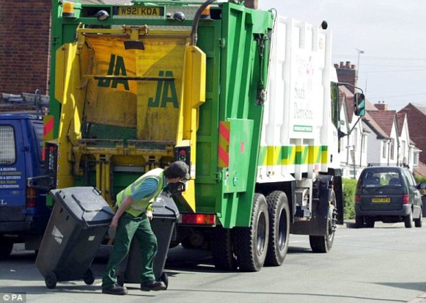 The 76-page report by the EU's Committee of the Regions recommends councils introduce a new tax on waste collection to help meet the EU's emission targets