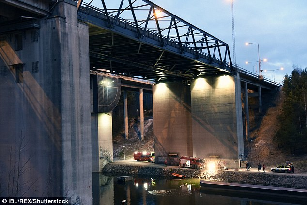 Swedish police said there were no faults with the bridge's warning system when the incident took place, just after 2am on Saturday morning