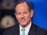 SQUAWK BOX -- Pictured: Eliot Spitzer, Democratic Party politician and former Governor of New York, in an interview on January 5, 2015 -- (Photo by: Adam Jeffery/CNBC/NBCU Photo Bank via Getty Images)