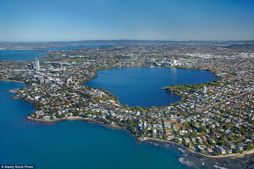 Lake Pupuke is a heart-shaped freshwater lake occupying a volcanic crater between the suburbs of Takapuna and Milford on the North Shore of Auckland, New Zealand