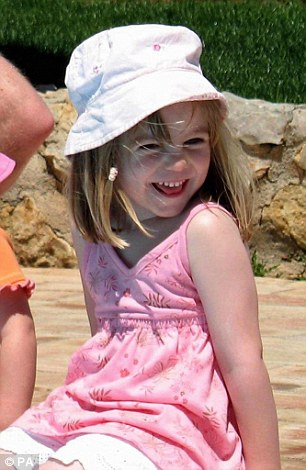 Madeleine McCann disappeared from a holiday apartment in Praia da Luz, Portugal, in May 2007