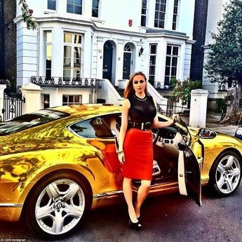 Image result for rich woman sports car