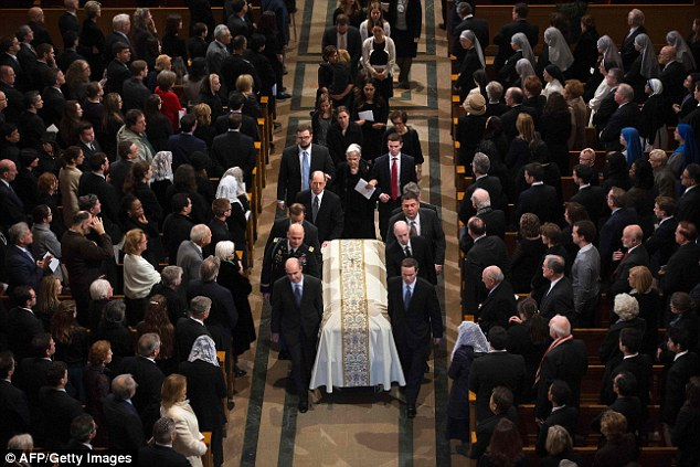 Justice Antonin Scalia's funeral attracted a packed house, but the one notable missing person was President Obama, who sent Vice President Joe Biden to attend