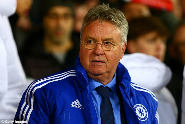 Guus Hiddink has steadied the ship since taking charge until the end of the current season