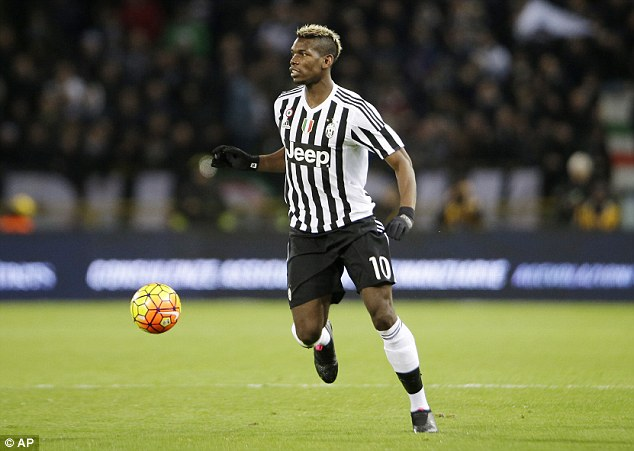 The Italian is keen on bringing Juventus midfielder Paul Pogba to Stamford Bridge in the summer