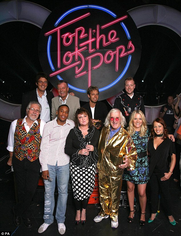 Heinous crimes: Savile molested 72 victims at the BBC and was still abusing women in 2006 when the corporation brought him back to host the last ever Top Of The Pops aged 79 [pictured]