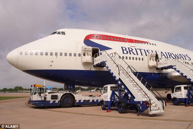 A British Airways Boeing 747 was taken out of service after bed bugs were discovered on board last week