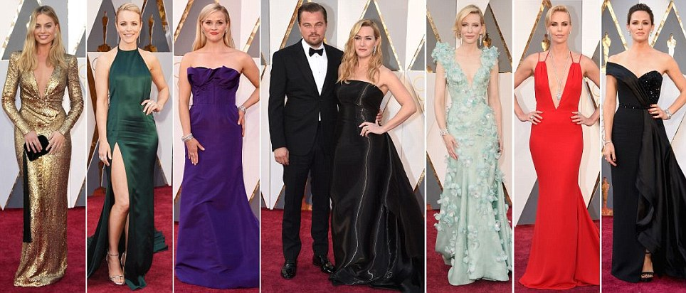 Oscars 2016 tapete vermelho vê nomeados Brie Larson e Alicia Vikander levar o glamour