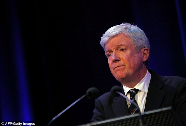 Now his solicitor, Martin Howe, has also threatened to sue Lord Hall (pictured) unless he makes an 'unequivocal public apology' over false statements made about him and his firm