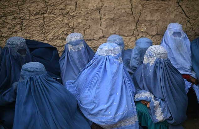 Women are regularly being sexually abused under the pretence of 'virginity tests' carried out on girls accused of pre-marital sex in Afghanistan, Human Rights Watch has claimed (file picture)