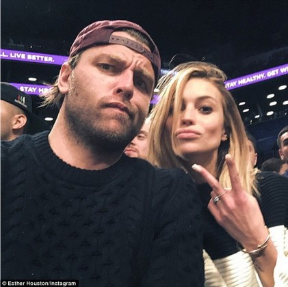 Inside the life of the Hillsong Church leader Joel Houston s wife     Glossy posse  Esther and her husband  Joel  count Justin Bieber and Vanessa  Hudgens