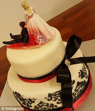 Spritely yet spiteful: The divorce cake wedding trend has been on the rise for the past 12 months