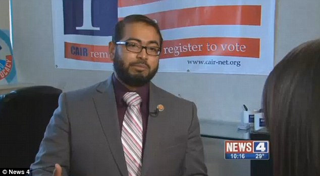 Faizan Syed, the executive director of the St Louis Chapter Council on American Islamic Relations, said when a child is named Jihad, it means someone who is going to struggle to be better
