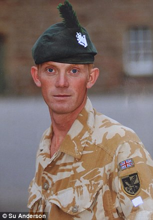 Mr Coult when he was in the Royal Irish Regiment