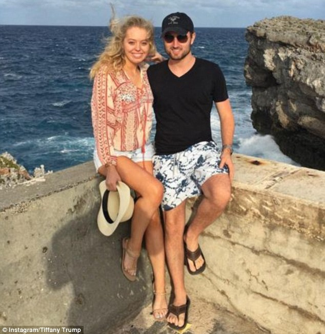 Tiffany Trump Jets Off On Vacation With Democrat Beau To