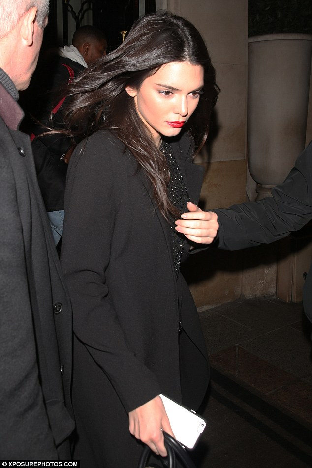 Kendall Jenner Parties With Chris Brown And Hailey Baldwin