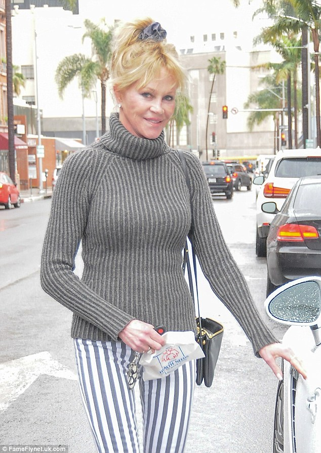 Melanie Griffith Seen After Opening Up On Dating After