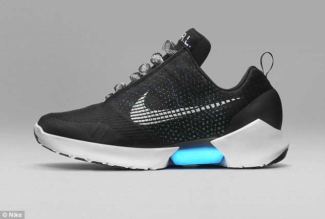 Nike¿s latest reveal just a few months into 2016 finally brings Marty McFly¿s iconic sneakers to life. The company has unveiled the Nike HyperAdapt 1.0, which automatically tighten when the wearer¿s heel hits a sensor. And, they will be available to Nike+ members later this year
