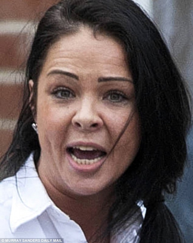 Pemsel, 32, texted prostitute Leanne Kennedy (pictured), also known as Leanne Davies, saying: 'This is naughty on my part so discretion would really be appreciated'