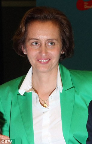 Beatrix von Storch, a leading AfD politician, is helping write the anti-immigrant group's manifesto