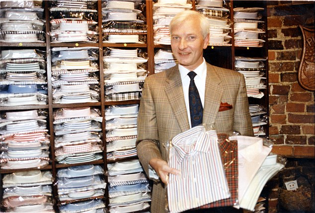 The decision to clear Mr Proctor (pictured at his shirt shop in 1992) is a humiliating climbdown for the Met, which had previously described his accuser's allegations as 'credible and true'